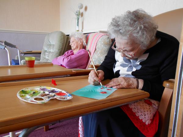 Day care art activities