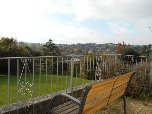 Balcony view at wentworth residential care home
