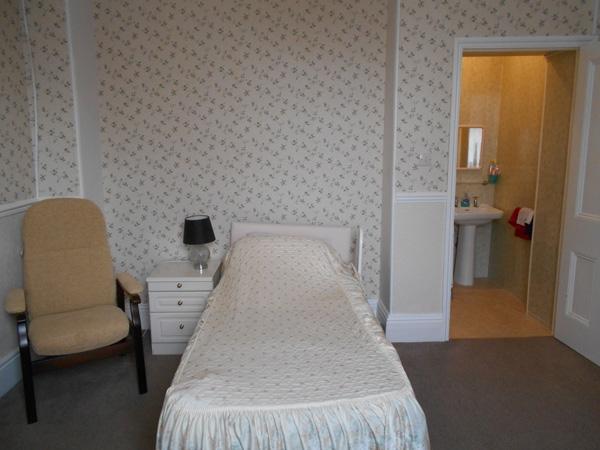 wentworth care home bedroom with en-suite bathroom