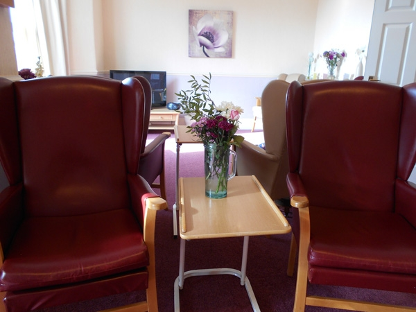 Wentworth care home lounge